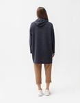 Εικόνα από Γυναικείο φούτερ οversized μακρύ Μπλε