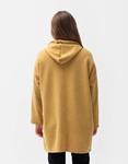 Εικόνα από Γυναικείο φούτερ οversized μακρύ Κίτρινο