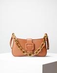 Εικόνα από Γυναικεία τσάντα ώμου & χιαστί με στρογγυλά λουράκια Ταμπά