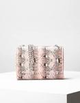 Εικόνα από Γυναικεία τσάντα ώμου & χιαστί animal print Ροζ