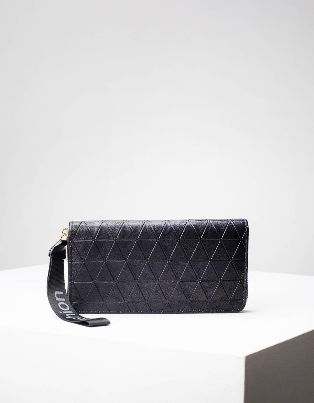 Εικόνα από Γυναικεία πορτοφόλια με μοτίβο Μαύρο