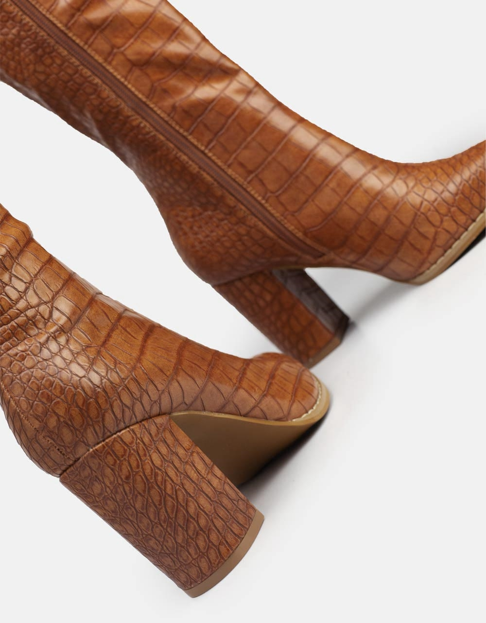 Εικόνα από Γυναικείες μπότες με κροκό μοτίβο Ταμπά