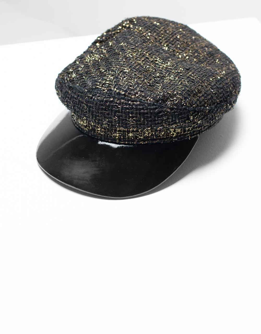 Εικόνα από Γυναικείο καπέλο τραγιάσκα Μαύρο