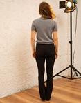 Εικόνα από Γυναικεία μπλούζα γυαλιστερή Γκρι