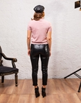 Εικόνα από Γυναικεία μπλούζα γυαλιστερή Ροζ