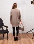 Εικόνα από Γυναικεία μπλούζα με σχέδια Μπεζ