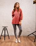 Εικόνα από Γυναικεία μπλούζα με σχέδια Ροζ