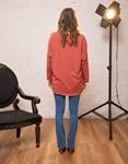 Εικόνα από Γυναικεία μπλούζα με τύπωμα Ροζ