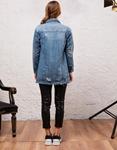 Εικόνα από Γυναικεία jackets με τσέπες Τζιν