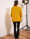 Εικόνα από Γυναικεία ζακέτα πλεκτή Κίτρινο