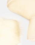 Εικόνα από Γυναικεία μποτάκια με εσωτερικό γουνάκι Μπεζ