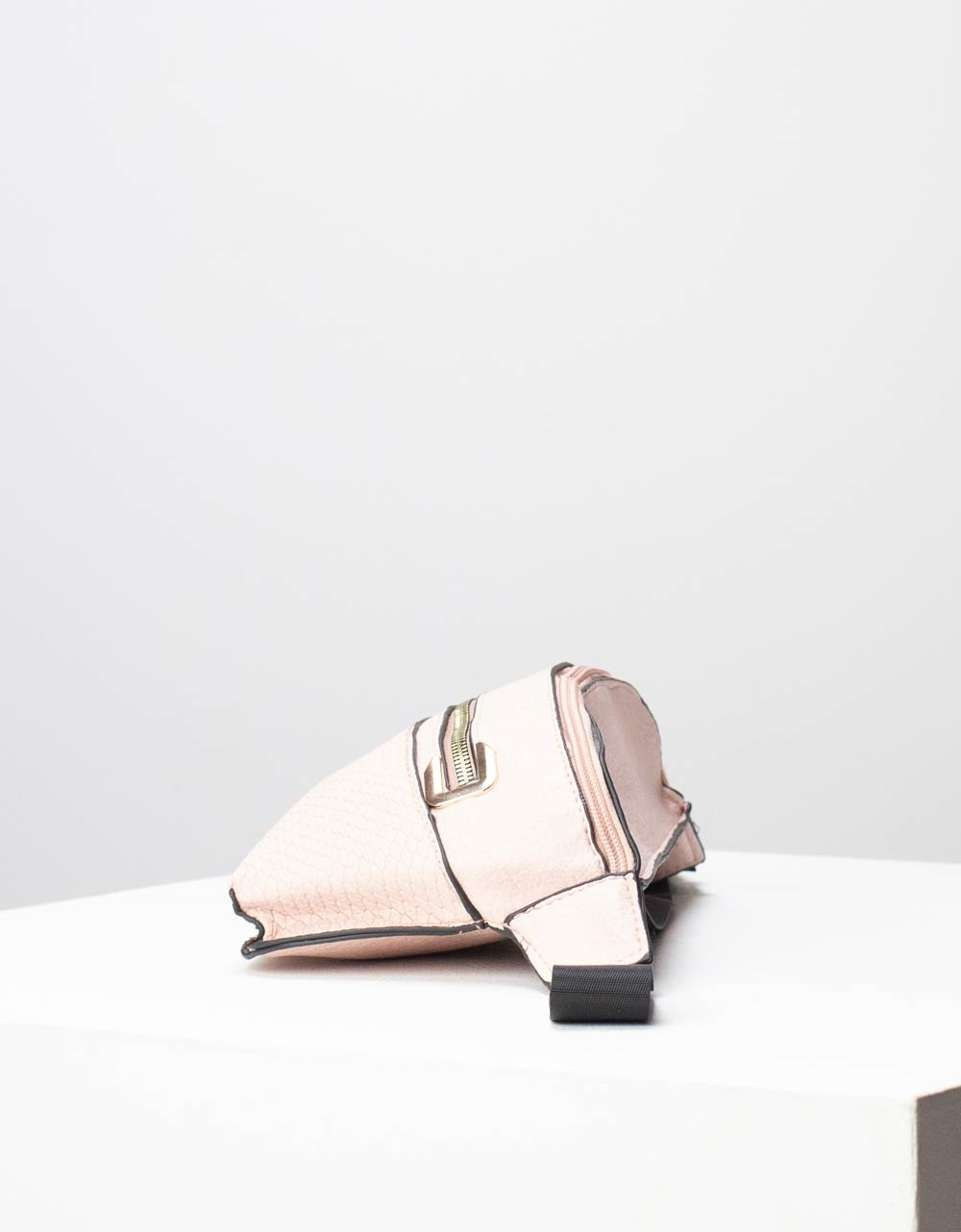 Εικόνα από Γυναικεία τσάντα μέσης με δύο θήκες Ροζ