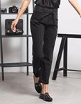 Εικόνα από Γυναικείo παντελόνι με ζωνάκι Μαύρο
