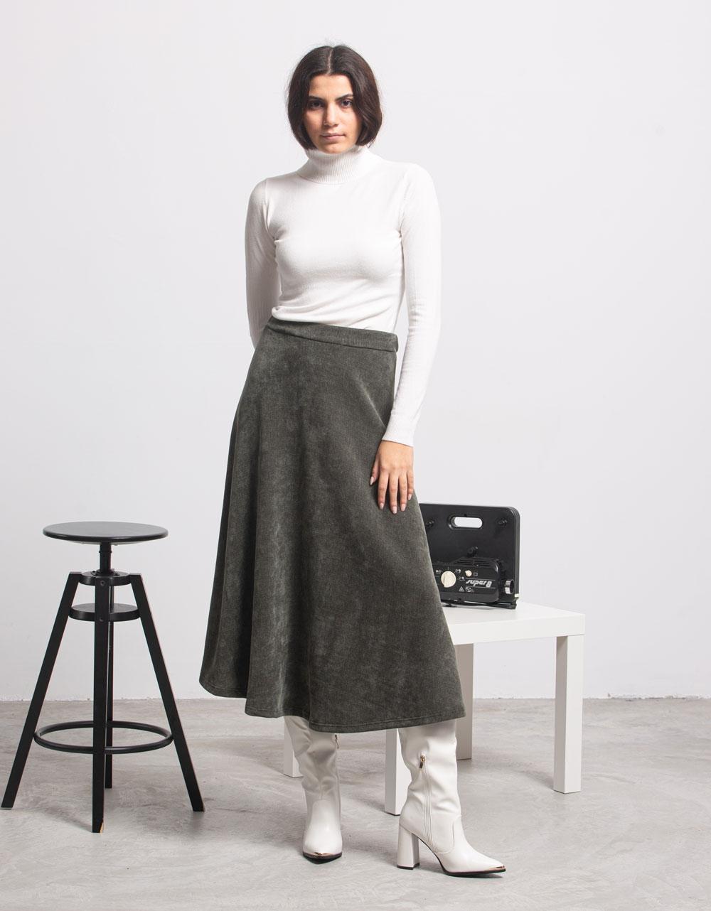 Εικόνα από Γυναικεία μπλούζα ζιβάγκο Λευκό