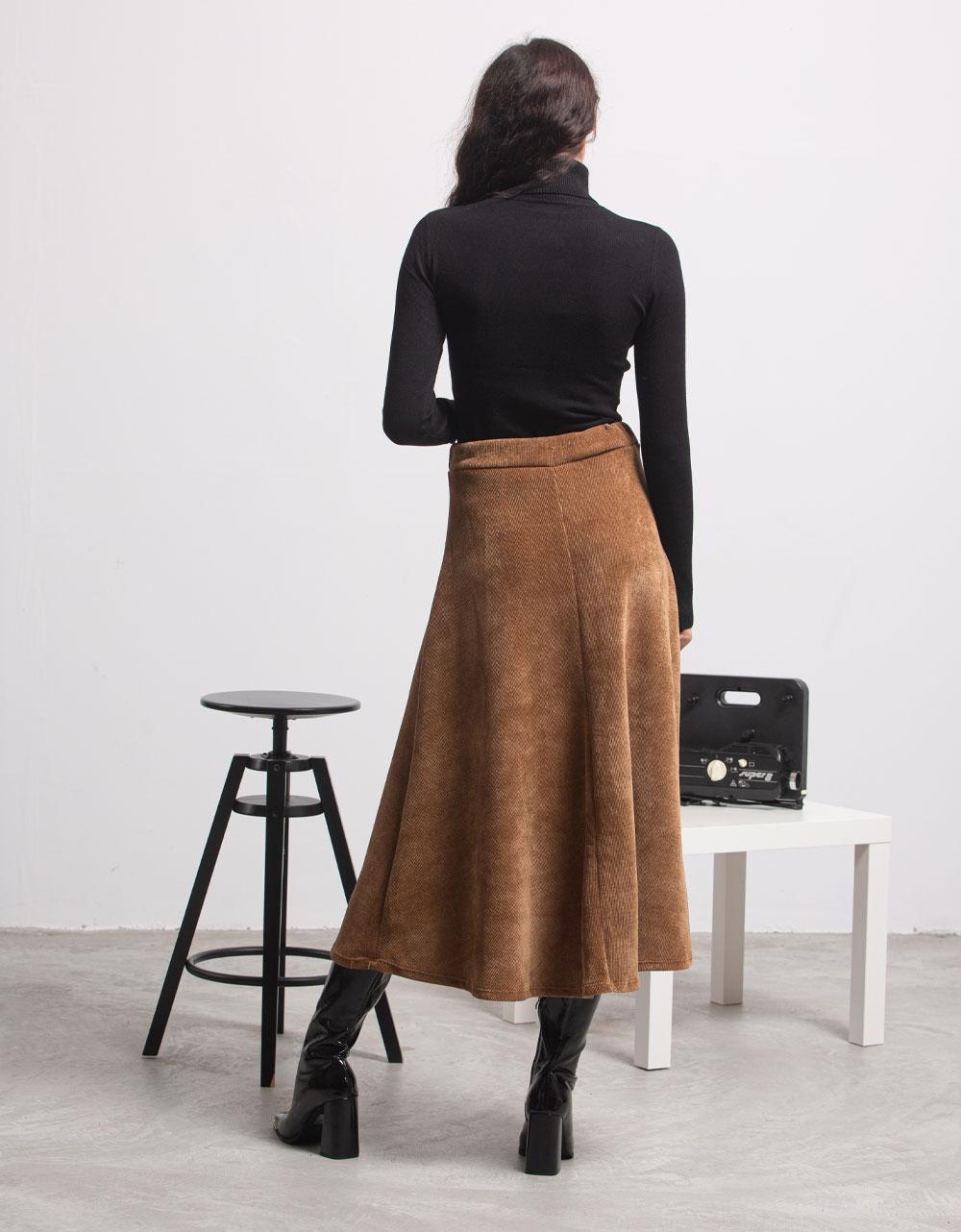 Εικόνα από Γυναικεία μπλούζα ζιβάγκο Μαύρο