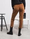 Εικόνα από Γυναικείο παντελόνι velvet Καφέ