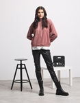 Εικόνα από Γυναικεία μπλούζα με κουκούλα Ροζ