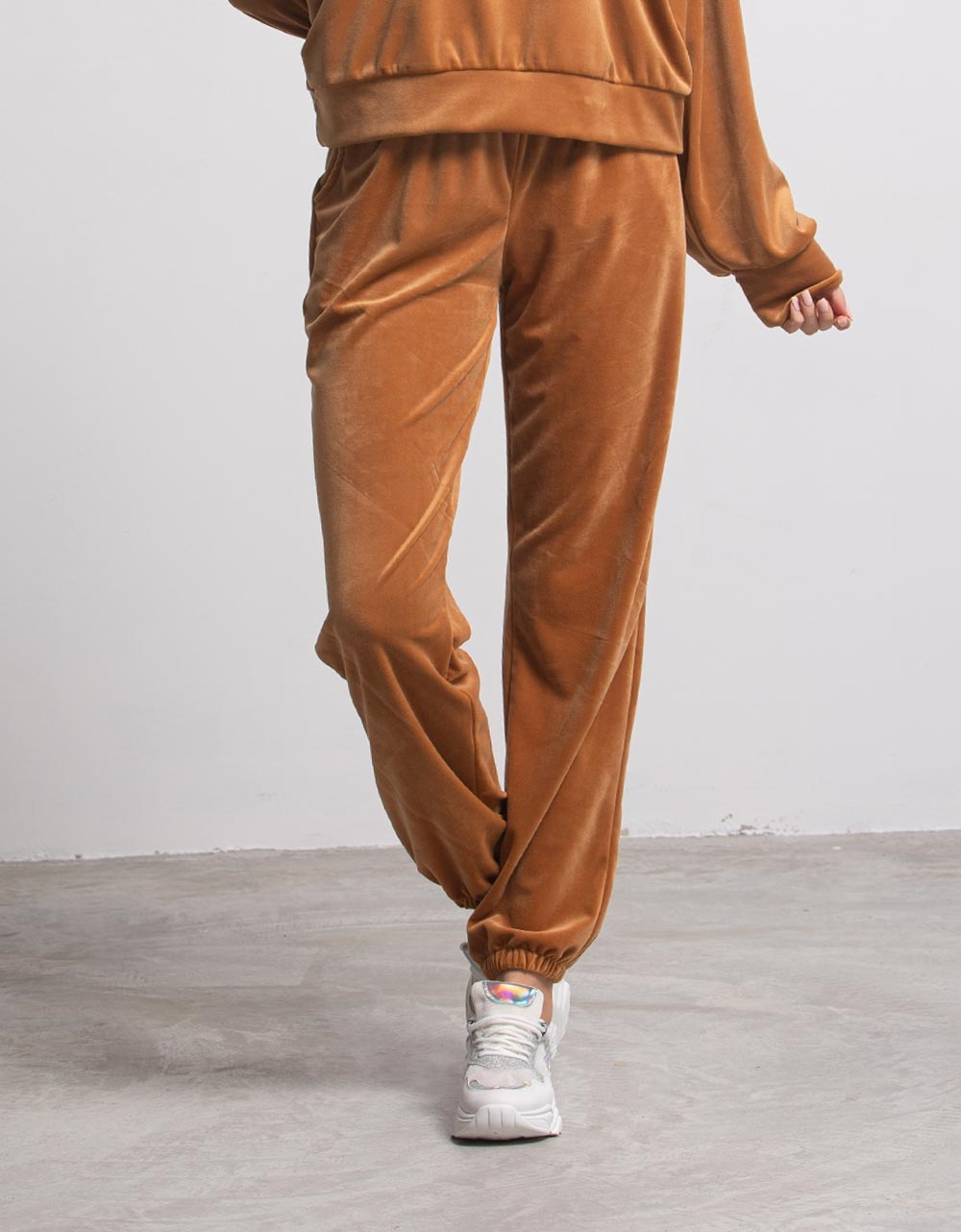 Εικόνα από Γυναικείο παντελόνι με λάστιχο Ταμπά