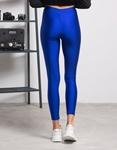 Εικόνα από Γυναικείο παντελόνι κολάν γυαλιστερό Μπλε
