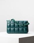 Εικόνα από Γυναικεία τσάντα ώμου & χιαστί καπιτονέ Πράσινο