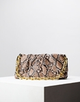 Εικόνα από Γυναικεία τσάντα ώμου & χιαστί animal print Καφέ