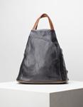 Εικόνα από Γυναικεία σακίδια πλάτης με δίχρωμα λουράκια Μαύρο