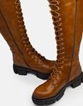 Εικόνα από Γυναικείες μπότες με τρακτερωτή σόλα Ταμπά