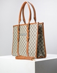 Εικόνα από Γυναικεία τσάντα σε τετράγωνο σχήμα Μπεζ