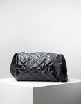 Εικόνα από Γυναικεία τσάντα ώμου & χιαστί καπιτονέ Μαύρο