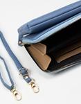 Εικόνα από Γυναικεία πορτοφόλια με εξωτερική θήκη κινητού Μπλε