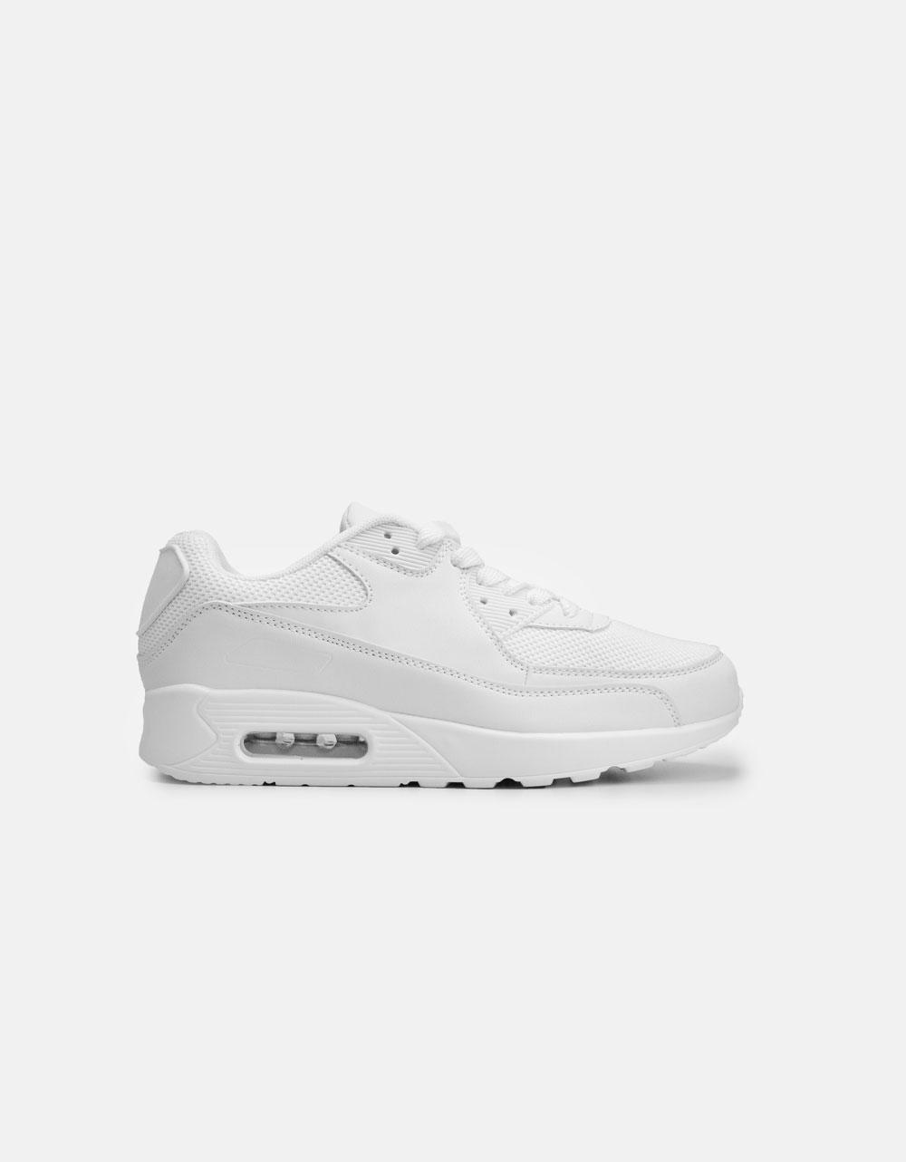 Εικόνα από Γυναικεία sneaker με δίχρωμες λεπτομέρειες Λευκό