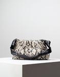 Εικόνα από Γυναικεία τσάντα ώμου & χιαστί με σούρες Multi