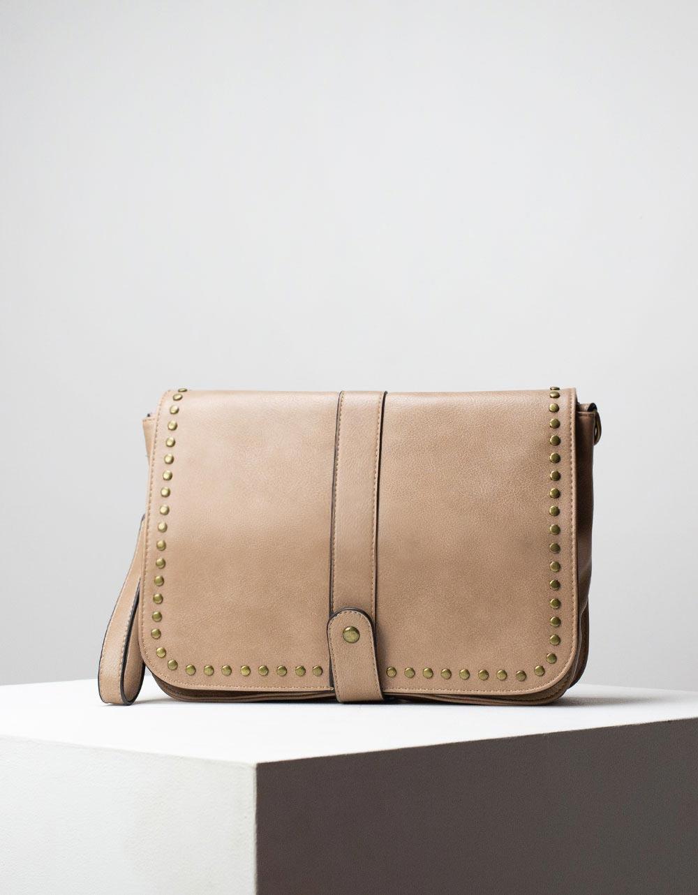 Εικόνα από Γυναικεία τσάντα ώμου & χιαστί με τρουκς Πούρο