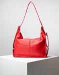 Εικόνα από Γυναικεία τσάντα ώμου & πλάτης μονόχρωμη Κόκκινο