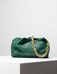 Εικόνα από Γυναικεία τσάντα ώμου & χιαστί με αλυσίδα Πράσινο