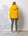 Εικόνα από Γυναικεία μπουφάν oversized φουσκωτό Κίτρινο