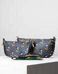 Εικόνα από Γυναικεία τσάντα ώμου & χιαστί 3 σετ με Μickey Μouse Μαύρο