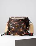 Εικόνα από Γυναικεία τσάντα ώμου & χιαστί με σχέδιο Καφέ
