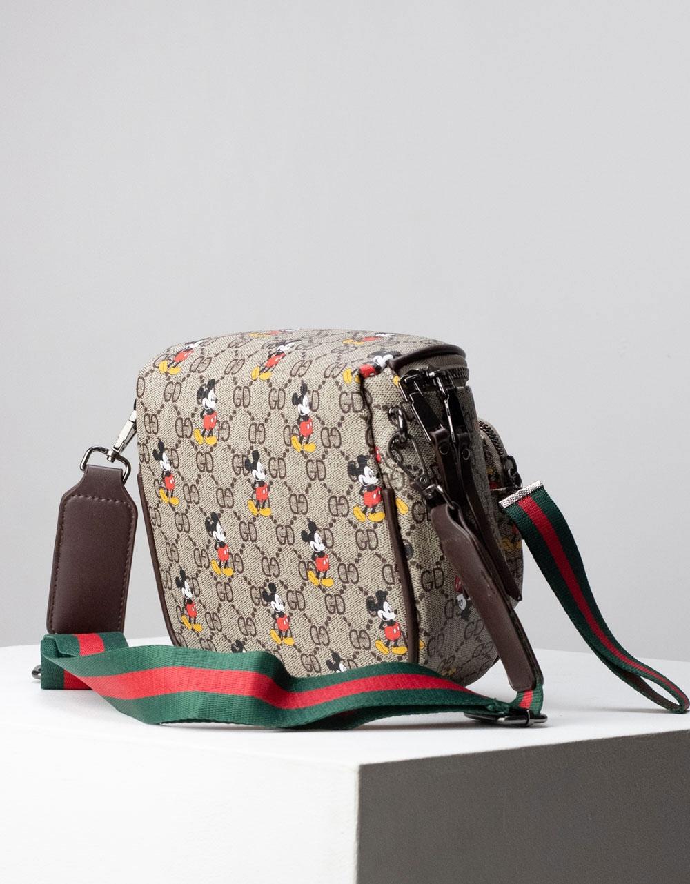 Εικόνα από Γυναικεία τσάντα ώμου & χιαστί με σχέδιο Multi