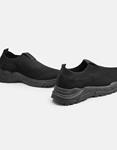 Εικόνα από Γυναικεία sneakers κάλτσα με διπλή σόλα Μαύρο