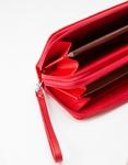 Εικόνα από Γυναικεία πορτοφόλια με ανάγλυφο pattern Κόκκινο