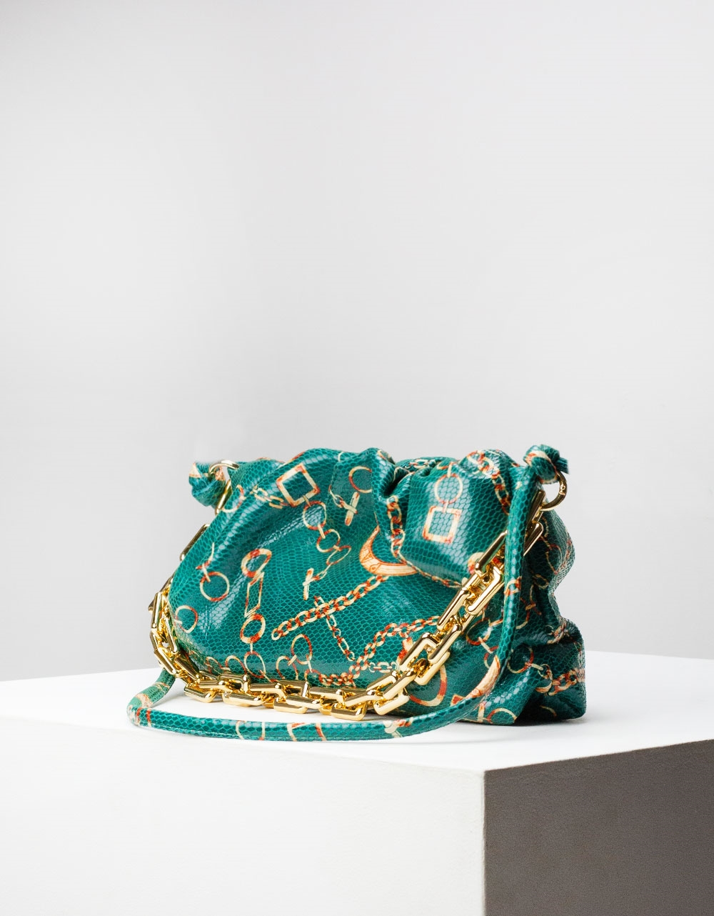 Εικόνα από Γυναικεία τσάντα ώμου & χιαστί με διάφορα σχέδια Πράσινο