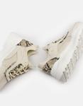 Εικόνα από Γυναικεία sneakers μονόχρωμα με λεπτομέρεια Μπεζ