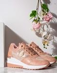 Εικόνα από Γυναικεία sneakers δίπατα με εσωτερικό τακούνι Ροζ