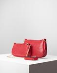 Εικόνα από Γυναικεία τσάντα ώμου & χιαστί με 3 σετ Κόκκινο