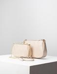 Εικόνα από Γυναικεία τσάντα ώμου & χιαστί με 3 σετ Μπεζ