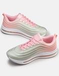 Εικόνα από Γυναικεία sneaker σε συνδυασμούς χρωμάτων Γκρι/Ροζ
