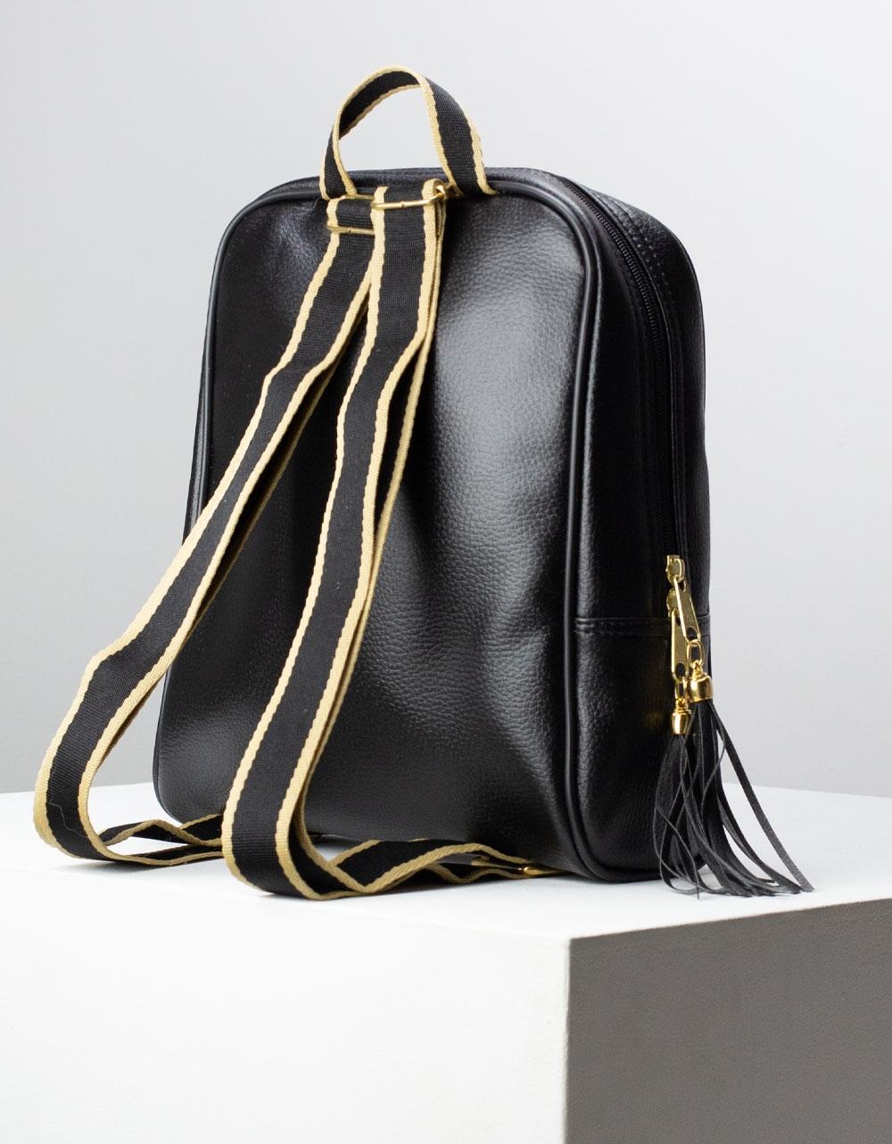Εικόνα από Γυναικεία σακίδια πλάτης με τύπωμα Μαύρο