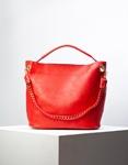 Εικόνα από Γυναικεία τσάντα ώμου με εσωτερικό τσαντάκι Κόκκινο