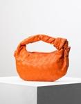 Εικόνα από Γυναικεία τσάντα ώμου & χιαστί με ανάγλυφο pattern Πορτοκαλί